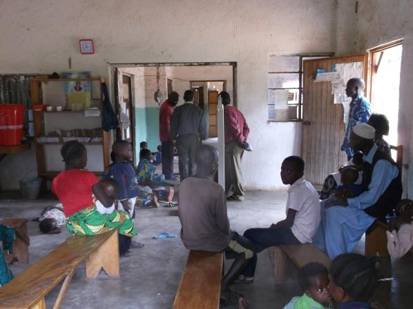 Mshimbakye Clinic, Reception.