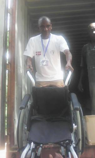 Wheelchair from NIF Foreningen